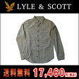 ライルアンドスコット LYLE&SCOTT 正規販売店 BUTTON DOWN CHECK SHIRT ボタンダウンシャツ グレー 10P07Feb16