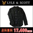 ライルアンドスコット LYLE&SCOTT 正規販売店 BUTTON DOWN CHECK SHIRT ボタンダウンチェックシャツ グリーン 10P07Feb16