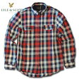 ライルアンドスコット LYLE&SCOTT 正規販売店 BUTTON DOWN CHECK SHIRT ボタンダウンシャツ ブルーレッド P20Aug16