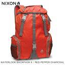 ショッピングnixon ニクソン NIXON 正規販売店 バッグ Waterlock Backpack II RED NC19521745-00 D15S25