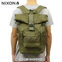 【販売期間 8/19 10:00〜8/28 9:59】 ニクソン NIXON 正規販売店 バッグ Swamis Backpack Surplus / Surplus Wash OLIVE NC21871736-00
