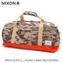 ショッピングnixon ニクソン NIXON 正規販売店 バッグ Pipes Duffle KHAKI NC21881717-00 D15S25