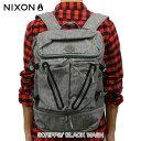 ショッピングnixon ニクソン NIXON 正規販売店 バッグ SCRIPPS/ BLACK WASH NC2605736-00 D00S20