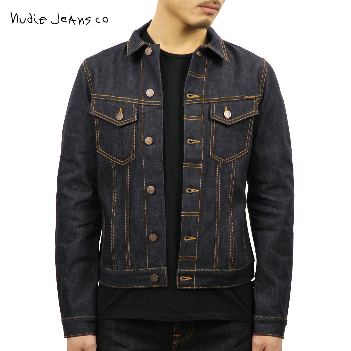 【販売期間 10/18 10:00〜10/26 1:59】 ヌーディージーンズ Nudie Jeans 正規販売店 メンズ アウター デニムジャケット BILLY DRY RING DENIM JACKET DENIM B26 160471 5003 D00S15