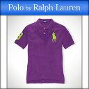 ポロ ラルフローレン キッズ POLO RALPH LAUREN CHILDREN 正規品 子供服 ボーイズ ポロシャツ Big Pony Mesh Polo #17535486 PURPLE