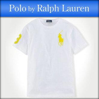 孩子馬球拉爾夫勞倫的馬球拉爾夫勞倫兒童真正孩子服裝男孩短袖 T 恤大小馬棉 t 恤 #34959856