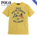 【20 OFFセール 8/17 10:00〜8/23 9:59】 ポロ ラルフローレン キッズ POLO RALPH LAUREN CHILDREN 正規品 子供服 ボーイズ 半袖Tシャツ SAILING COTTON GRAPHIC TEE 56856786