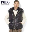 ポロラルフローレン POLO RALPH LAUREN 正規品 メンズ ダウンベスト ブラック 10P22Jul14