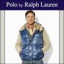 ポロラルフローレン POLO RALPH LAUREN 正規品 メンズ ダウンベスト Peak Down Vest ネイビー 10P22Jul14
