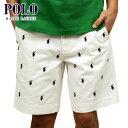 ポロ ラルフローレン ショートパンツ メンズ 正規品 POLO RALPH LAUREN ボトムス PONY SHORTS ホワイト