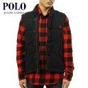 ポロラルフローレン POLO RALPH LAUREN 正規品 メンズ ベスト Cleveland Fleece Vest BLACK 10P22Jul14