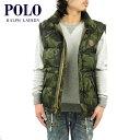 ポロラルフローレン POLO RALPH LAUREN 正規品 メンズ ダウンベスト Elmwood Camouflage Vest CAMO 10P22Jul14