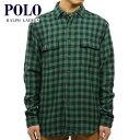 ポロラルフローレン POLO RALPH LAUREN 正規品 メンズ 長袖シャツ Custom-Fit Buffalo Plaid Shirt