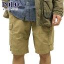 ポロ ラルフローレン ショートパンツ メンズ 正規品 POLO RALPH LAUREN ボトムス GELLAR FATIGUE CHINO SHORT