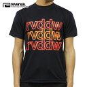 リバーサル Tシャツ メンズ 正規販売店 REVERSAL 半袖Tシャツ クルーネック メッシュTシャツ NEON LOGO CRY TEE rv19ss015 NAVY