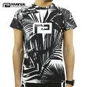 リバーサル Tシャツ 正規販売店 REVERSAL 半袖ラッシュガード PALM REEF RASH GUARD rv20ss601 WHITE