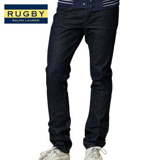 Ralph Lauren Rugby genuine メンズスキニー jeans Skinny-Fit Dark Rinse Jean A07B B1C C2D D1E E07F fs3gm10P14Nov13