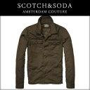 SCOTCH&SODA スコッチアンドソーダ メンズ ジャケット Shirt jacket with detachable inner 31117 65 OLIVE 10P13Jun14