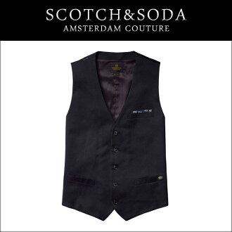 蘇格蘭威士卡蘇打威士卡 & 蘇打正規的銷售店男裝吉列特馬甲 33051 B 10P28Sep16
