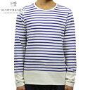 スコッチアンドソーダ Tシャツ メンズ 正規販売店 SCOTCH&SODA 長袖Tシャツ Uni Blauw Breton 128604 A D00S15