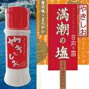 さらさらのやきしお 卓上小瓶 75g【宮崎産・日向灘・天然塩...