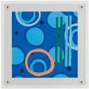 HIBELL ART(ハイベルアート)アートポスター・カラフル抽象アートシリーズリー クルー/ハイパーブルー 01 HS-7025作家作品や...