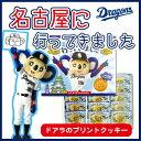 ドアラ 名古屋に行ってきました。プリントクッキー 15枚入(新パッケージ)中日ドラゴンズのどあらのク