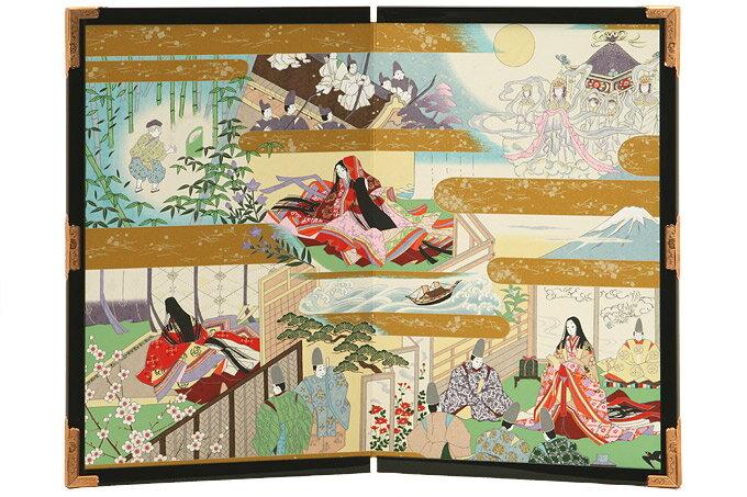 友禅和紙工芸品 絵屏風
