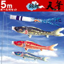 Working under six points of large-sized carp streamer celestial flower 5m carp streamer set Paul [family coat of arms case, name case possibility putting a towel unfolded on the head in Kabuki]; is working under carp streamer & pole Paul [easy ギフ _ packing] [comfortable ギフ _ expands an address] [smtb-tk] [w3]