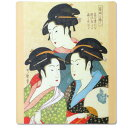 [Japanese souvenir] three Japanese-style mouse pad beautiful women