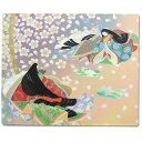 ★[Japanese souvenir] Japanese-style mouse pad The Tale of Genji
