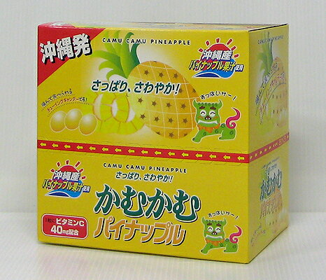 かむかむ沖縄パイナップル30g(10袋入)
