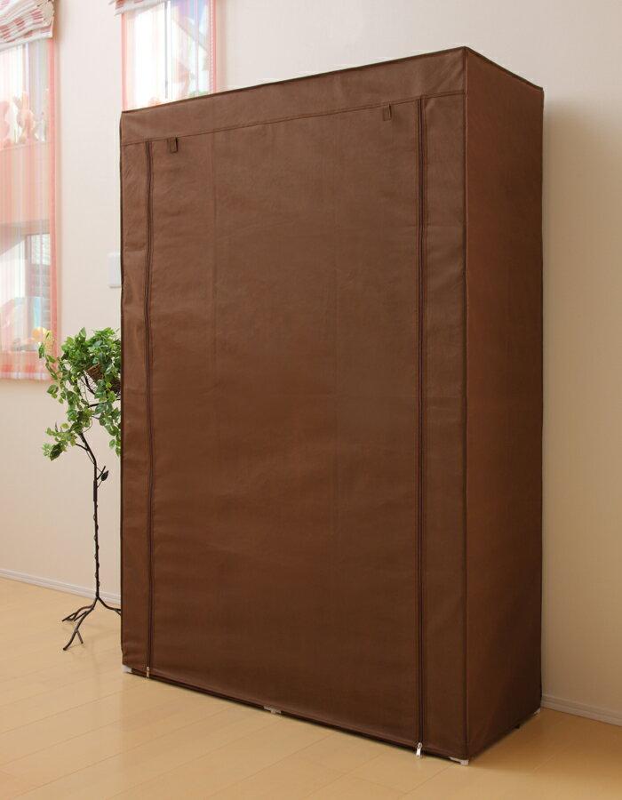 処分セール ハンガーラック カバー付き 棚付き...の紹介画像3