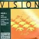 ヴァイオリン弦 VISION(ヴィジョン)A 1/8サイズ用 ※メール便対応【店頭受取対応商品】