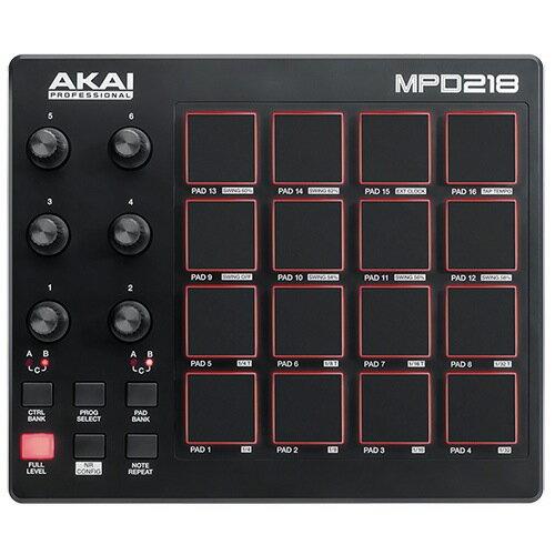 AKAI/MPD218【Sample Magicコンテンツプレゼントキャンぺーン 〜12/31】