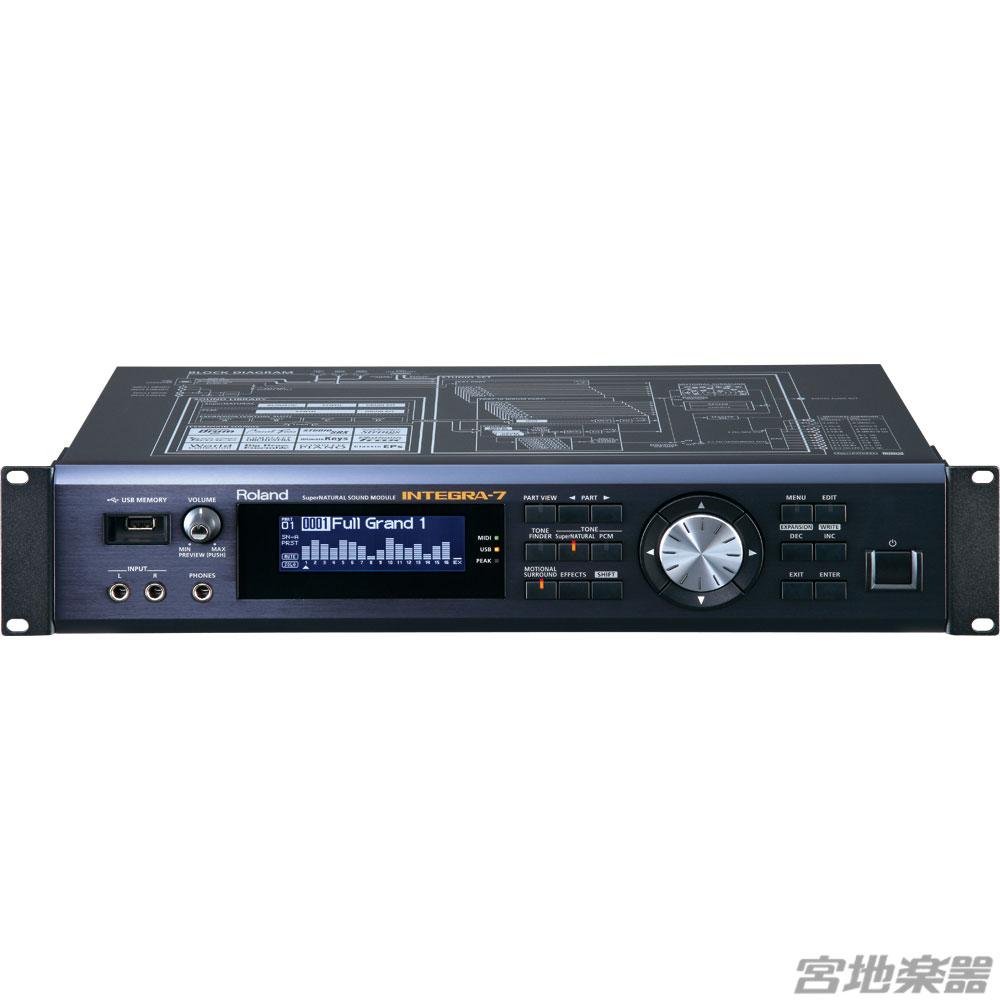 Roland/INTEGRA-7【定番】  音楽制作のスピードを飛躍的に向上させる音源モジュール