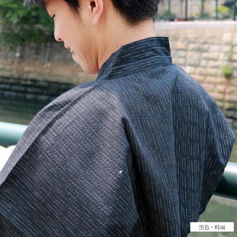 作務衣(さむえ)■麻混先染しじら織 夏作務衣【...の紹介画像3