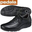ペダラ ウォーキングシューズ アシックス pedala WS306S 90 ブラック 送料無料