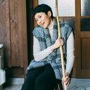【送料込】宮田織物 はんてん 袖なし iroha(いろは)ポンチョ メンズ レディース 日本製 冬 中わた綿80%・ポリエステル20% 黒/紺/赤