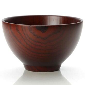 «納米外套食品清洗機» 天然木材...湯碗 (L) 深棕色