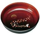 紀州漆器の丁寧に塗り上げた菓子鉢