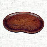 天然木製 そら豆皿(中) 漆塗り 【あす楽対応】【HLSDU】【楽ギフ包装】【RCP】