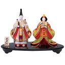錦彩華舞立雛 ひな祭り(雛人形・お雛・ひな人形・土雛)