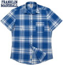 【SALE】30%OFF★FRANKLIN&MARSHALL/フランクリンアンドマーシャル MEN'S LIGHTWEIGHT COTTON SHORT SLE...