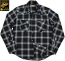 INDIAN MOTORCYCLE/インディアンモーターサイクル OMBRE CHECK L/S WESTERN SHIRT オンブレーチェック 長袖ウェスタン...