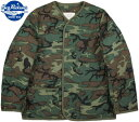 BUZZ RICKSON'S/バズリクソンズ LINER, EXTREME COLD WEATHER, COAT Type M-65 LINER CAMO柄 M...