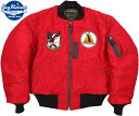 ショッピングフェンス BUZZ RICKSON'S/バズリクソンズ Jacket, Flying, Intermediate Type RED MA-1