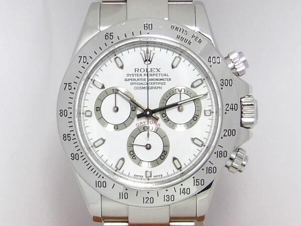 【質屋出店】【当店保証3年付】ロレックス コスモグラフ デイトナ 116520 メンズ 時計【中古】
