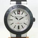 【質屋出店】【当店保証1年付】ブルガリ アルミニウム AL38TA メンズ 時計【中古】