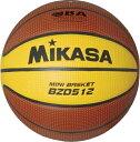 ミカサ MIKASAバスケットボール5号球特殊人工皮革 検定球【BZD512】